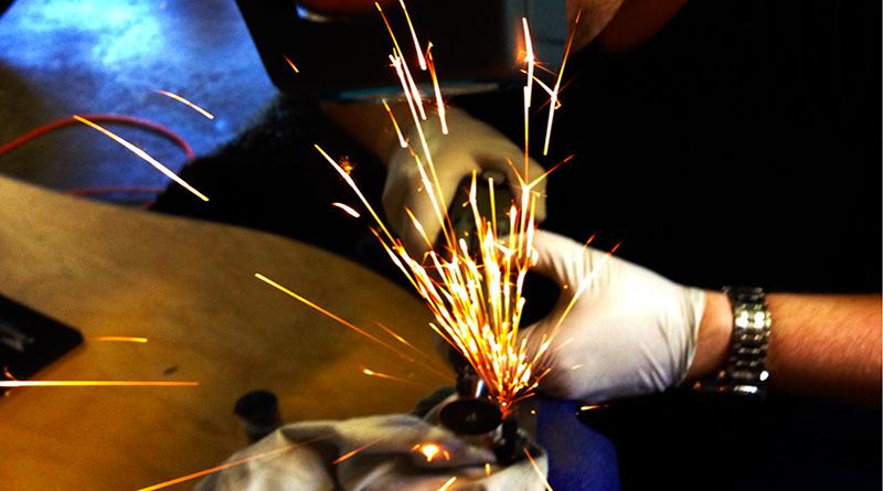 Dremeling AR15 Hammer