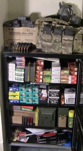 Having even a modest ammo storage can help to get through shortages