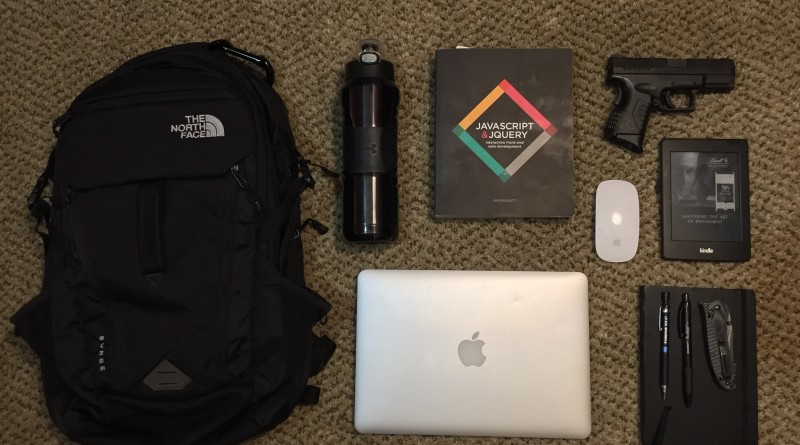 EDC Thursday – Kevin's Bag Dump